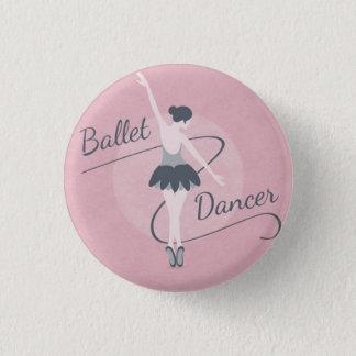 Ballet Dancer boton 1 Inch Round Button