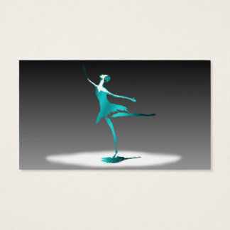 ballet dancer business card