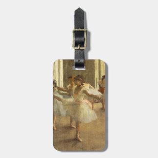 Ballet Dancer by Edgar Degas Luggage Tag