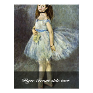 Ballet Dancer By Pierre-Auguste Renoir Custom Flyer