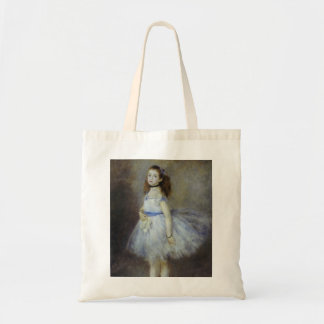 Ballet Dancer by Pierre Renoir, Vintage Fine Art Budget Tote Bag