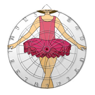 Ballet Dancer Dartboard