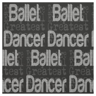 Ballet Dancer Extraordinaire Fabric