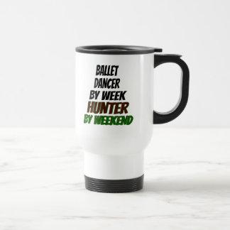 Ballet Dancer Hunter Travel Mug