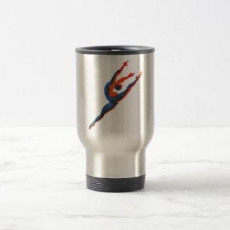 Ballet Dancer Leaping Travel Mug