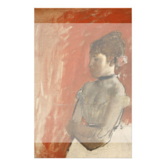 Ballet Dancer with Arms Crossed by Edgar Degas Personalized Flyer