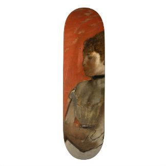 Ballet Dancer with Arms Crossed by Edgar Degas Skateboard Deck
