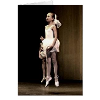 Ballet Dancers Card