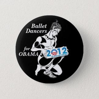 Ballet Dancers for Obama 2012 2 Inch Round Button