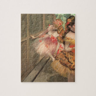 Ballet Dancers in Butterfly Costumes, Edgar Degas Jigsaw Puzzle