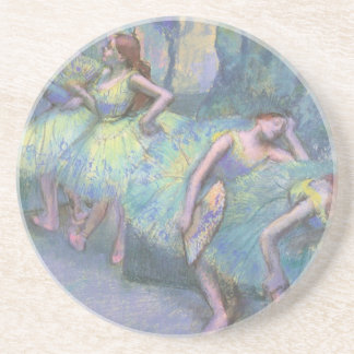 Ballet Dancers in the Wings by Edgar Degas Coaster