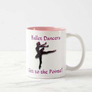 Ballet Dancers Pink Mug