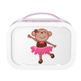 Ballet Dancing Monkey Lunch Box