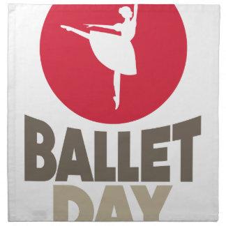 Ballet Day - Appreciation Day Napkin
