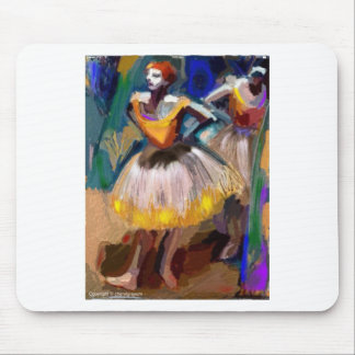 Ballet - Dega Mouse Pad