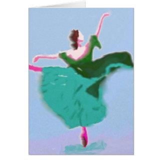 Ballet Dress Art Card