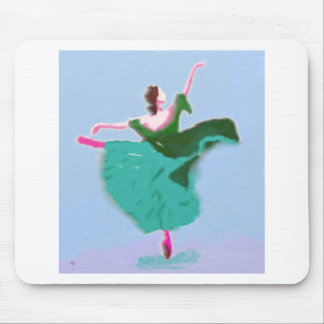 Ballet Dress Art Mouse Pad