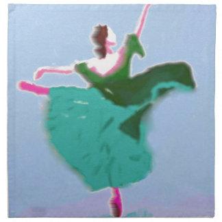 Ballet Dress Art Napkin