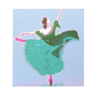 Ballet Dress Art Notepad