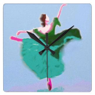 Ballet Dress Art Wall Clock