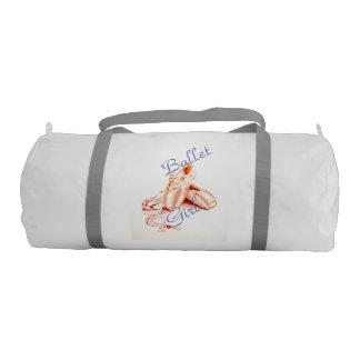 Ballet Girl Gym Bag