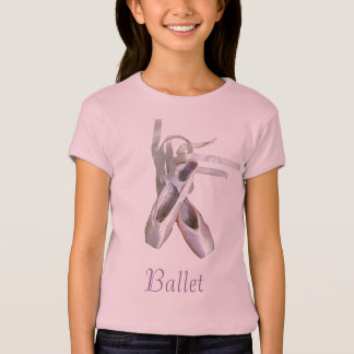 'Ballet' Girls' Baby Doll T-shirt