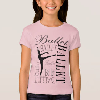 Ballet Girls Babydoll T - Arabesque T-Shirt