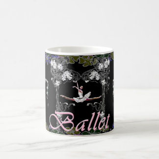 Ballet Grande Jete in Flowered Arch Mug