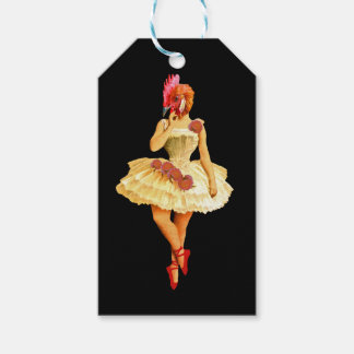 Ballet Hen Gift Tags