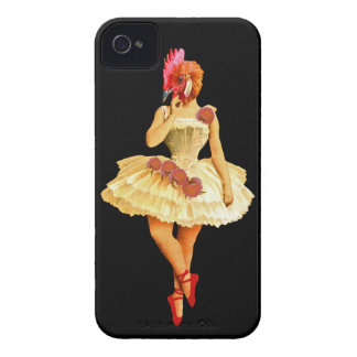 Ballet Hen iPhone 4 Case-Mate Case