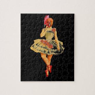 Ballet Hen Jigsaw Puzzle