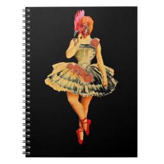Ballet Hen Notebooks