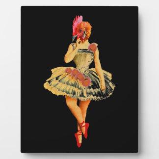 Ballet Hen Plaque