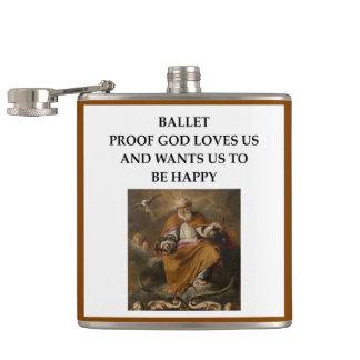ballet hip flask
