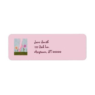 Ballet in Flowers Customizable Address Labels