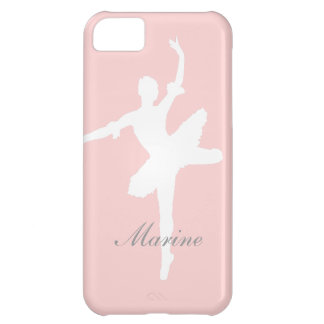Ballet iPhone 5C Case with Custom Name