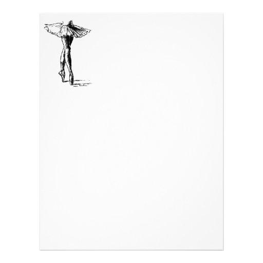 Ballet Letterhead Design