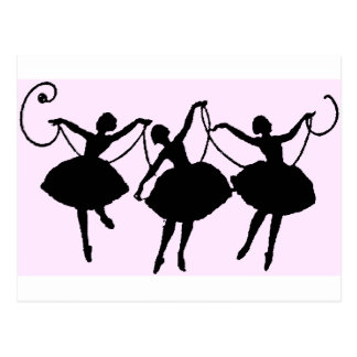 Ballet merchandise postcard