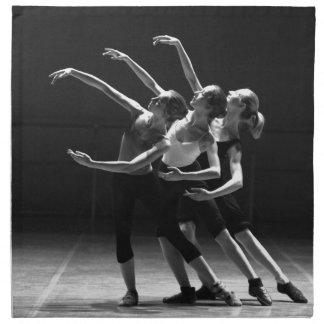 ballet napkin