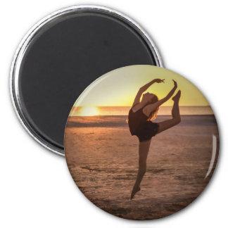 Ballet on the Beach Magnet