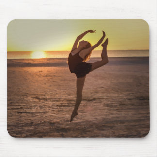 Ballet on the Beach Mousepad