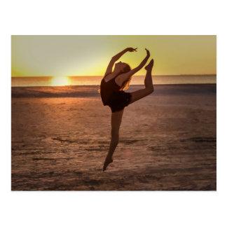 Ballet on the Beach Postcard