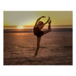 Ballet on the Beach Print