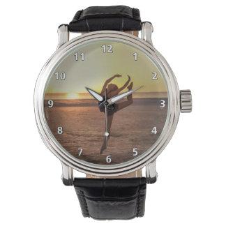 Ballet on the Beach Wrist Watch