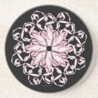 Ballet Pattern (pink) Coaster