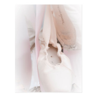 Ballet Pointe Post Card
