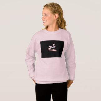 Ballet Pointe Shoes Sweatshirt (Pink & Black)
