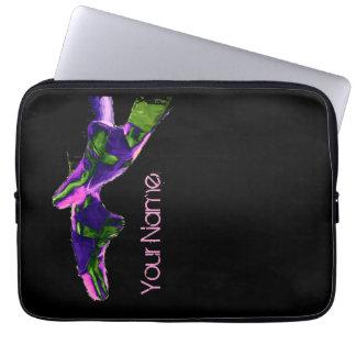 Ballet Pointe Slippers Purple Computer Sleeve