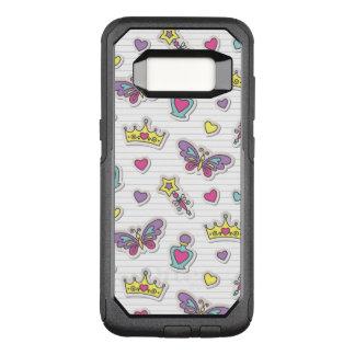 ballet princess pattern OtterBox commuter samsung galaxy s8 case