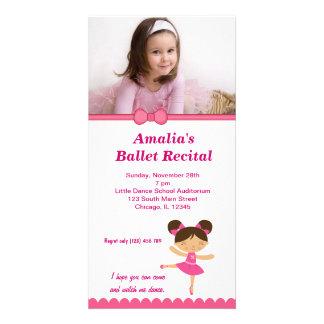 Ballet Recital Photo Card